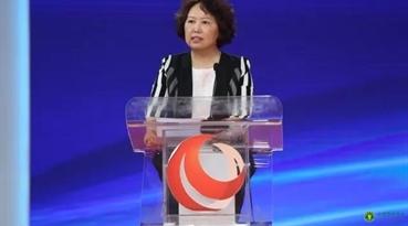中国营养学会理事长、中国疾病预防控制中心营养与健康所研究员杨月欣致辞